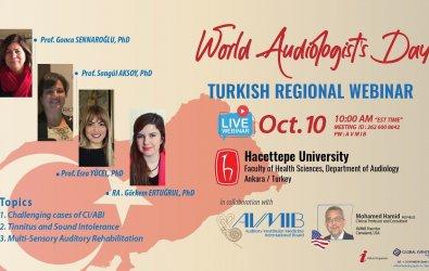 10 Ekim Dünya Odyologlar Gününe Özel Webinar